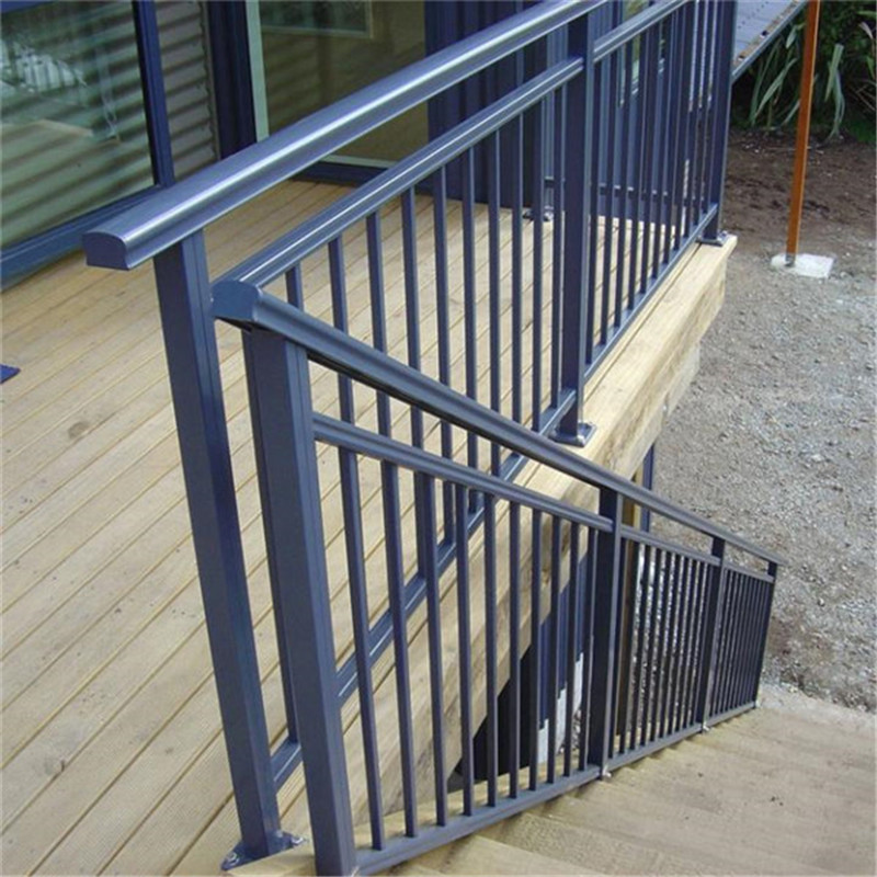 High Quality Staircase Aluminum Balustrade With Anodizing