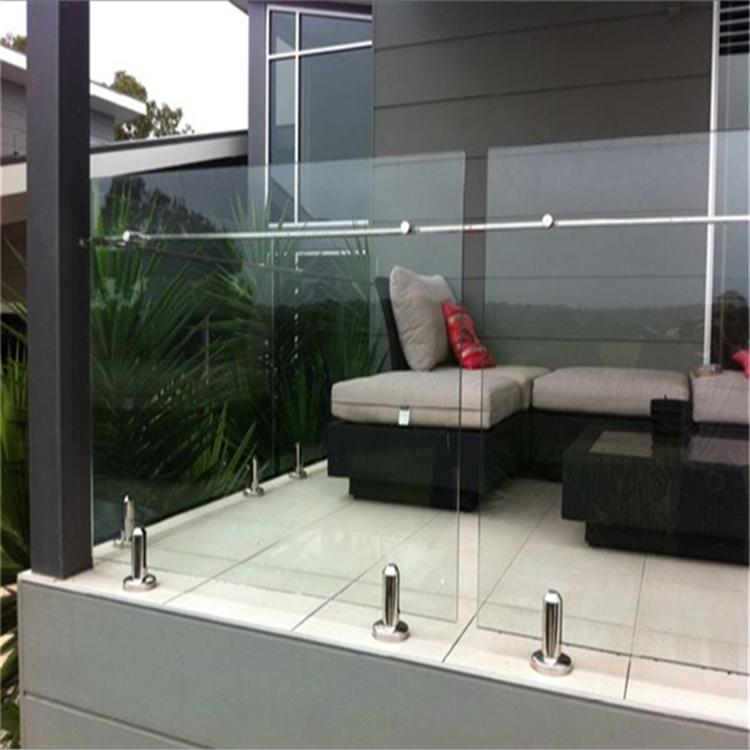 Hot Selling Safety 316 S S Spigot Frameless Glass