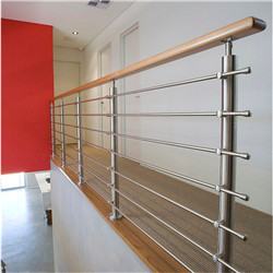 Easy DIY Install Rod Bar Balustrade With Stainless Rod Handrail