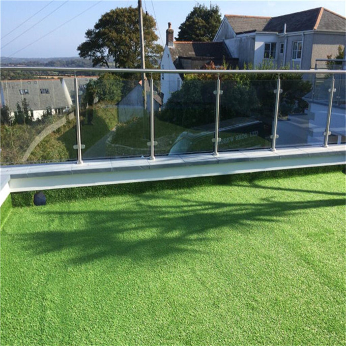 Customized Modern Design Polish Stainless Steel Glass Balcony Railing