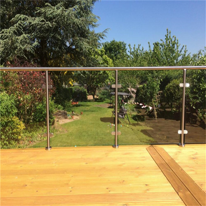 Hot sale safety stainless steel post railing design for outdoor