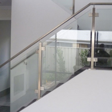 Low prices stainless steel glass railing for stairs