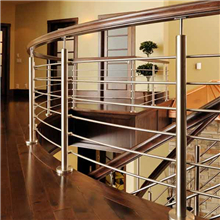 Made in China Indoor curved rod railing