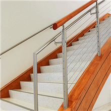 High Quality Black cable railing for staircase
