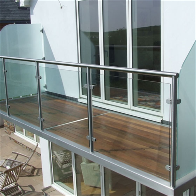 outdoor stainless steel glass railings designs residential